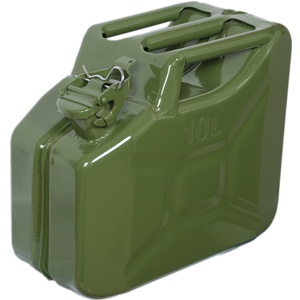 GP STEEL JERRY CAN 10 LITRES - GREEN