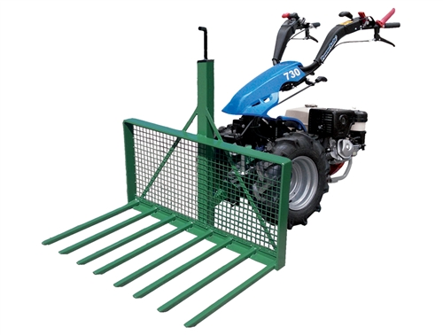 Two Wheel Tractor Attachments : Bcs buck rake to fit two wheel tractor suitable for