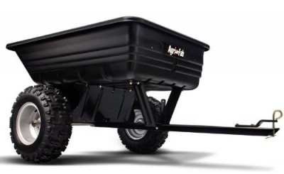 Agri Fab 45 0175 Tow Push Atv Cart With Tipping 650lbs
