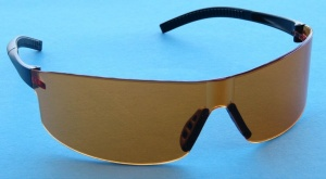 STEIN Orbit Orange Safety Glasses