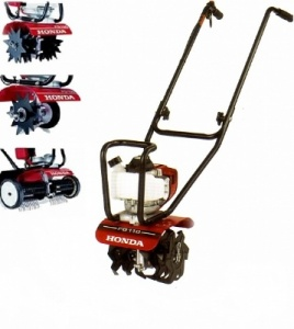 HONDA FG110 Tiller Complete with Lawncare Kit