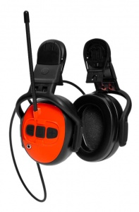 HUSQVARNA Hearing Protectors with FM Radio - Helmet Set