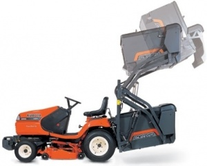 KUBOTA G21E Ride On Mower (High Dump)