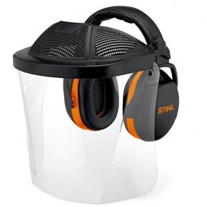 STIHL Face/Ear Protection with Plastic Visor (Enlarged)