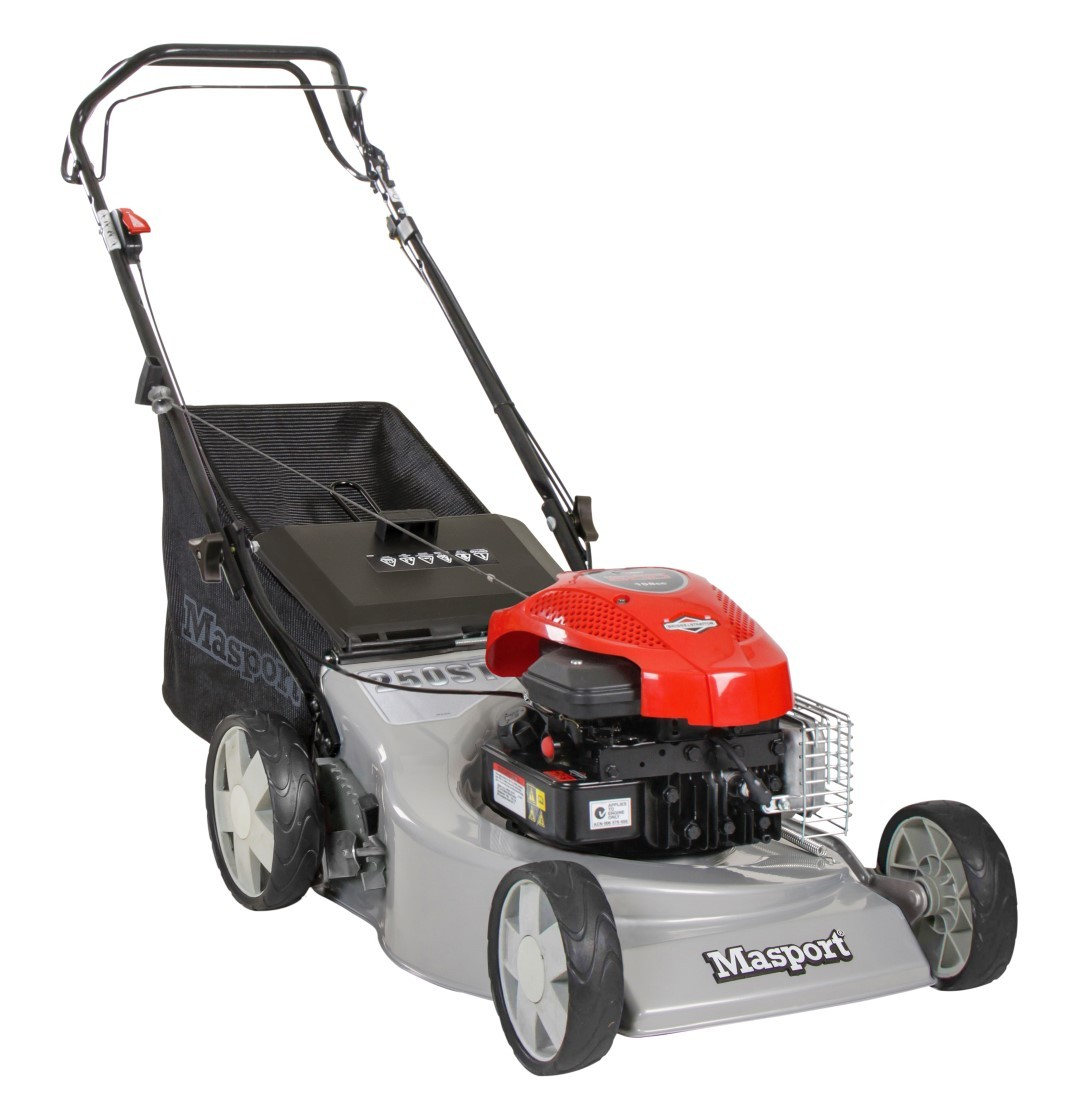 Masport petrol powered SP lawnmower
