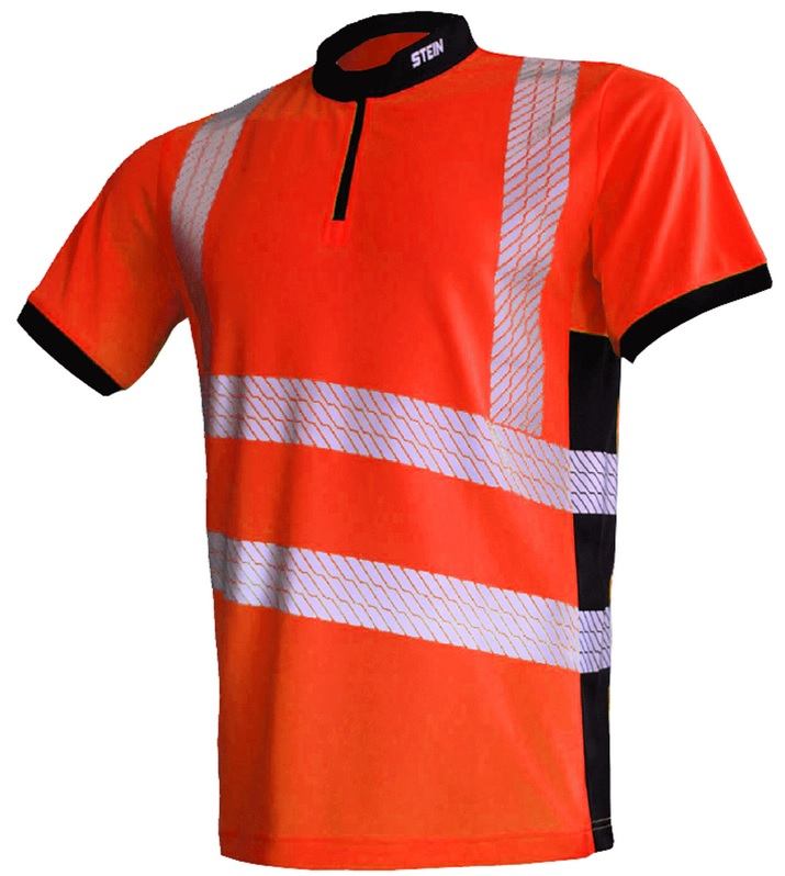 STEIN Hi-Viz T-shirt Orange - Size Large