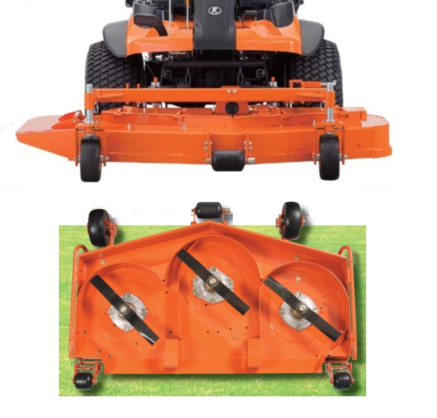 KUBOTA 60 Inch Rear Discharge Deck (F2890)
