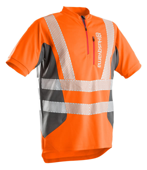 HUSQVARNA TECHNICAL Work T-Shirt (Hi-Viz)