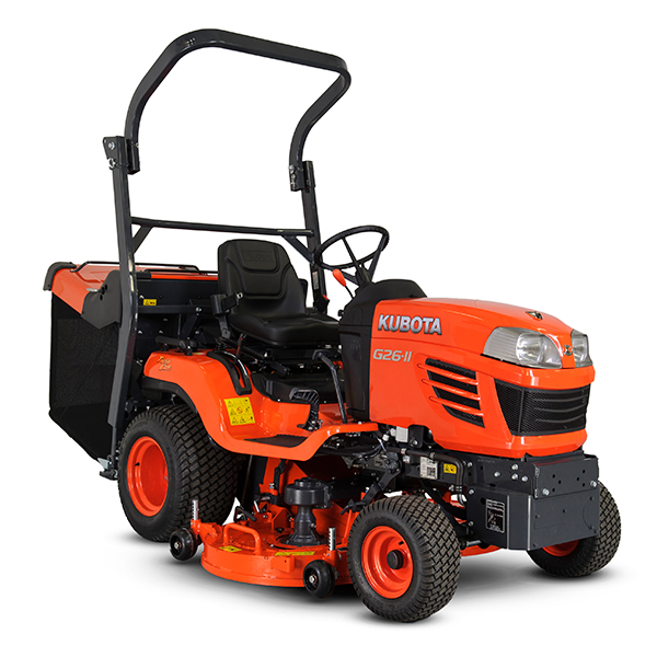 KUBOTA G26-II Ride On Mower (Low Dump)