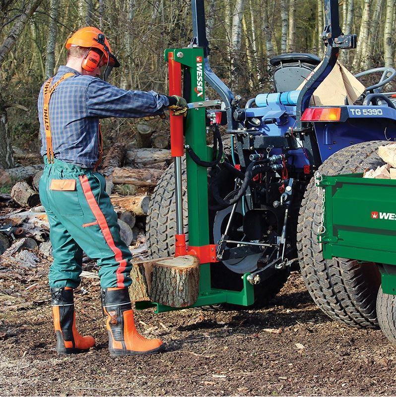 WESSEX Tractor Mounted Log Splitter LS100