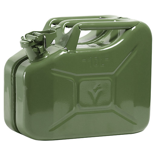 The Handy Steel Jerry Can
