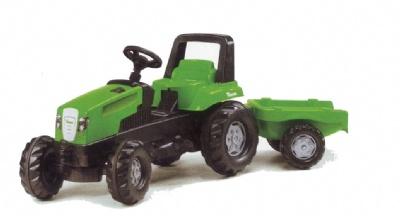 VIKING Junior Trac Toy Tractor and Trailer