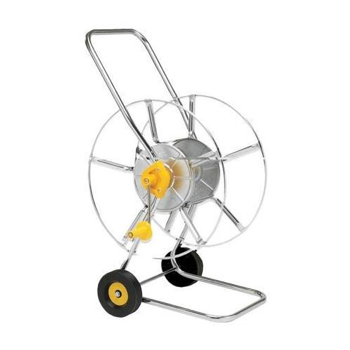 Wolf Ws80z 80 M Hose Reel Trolley For Garden Irrigation