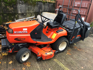 USED KUBOTA G21E HIGH DUMP MOWER